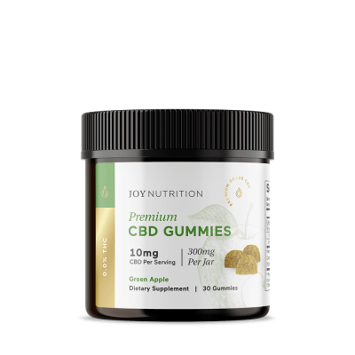JOY ORGANICS | Gummies - Green Apple - Jar of 30