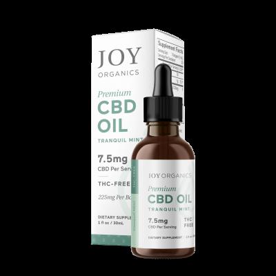Joy Organics | CBD Oil 225mg Mint