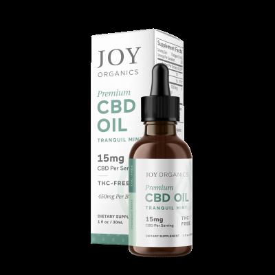 Joy Organics | CBD Oil 450mg Mint