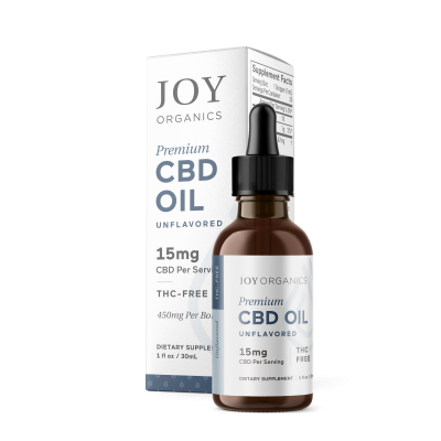 Joy Organics | CBD Oil 450mg Natural