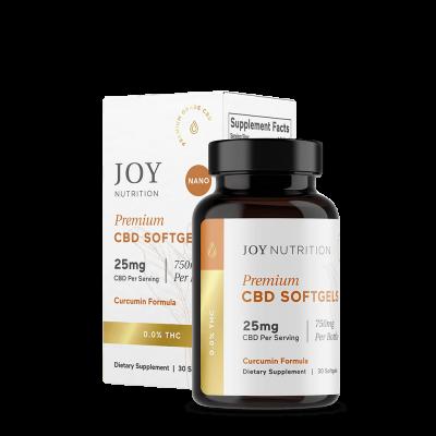 JOY ORGANICS   Softgels 25mg - Curcumin Formula