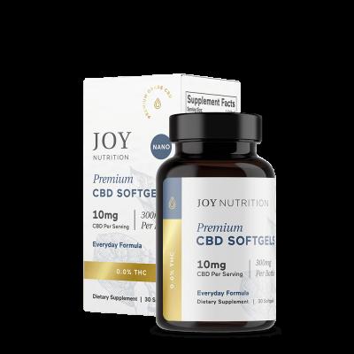 JOY ORGANICS   Softgels 10mg - Everyday Formula