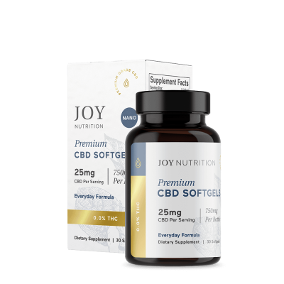JOY ORGANICS   Softgels 25mg - Everyday Formula