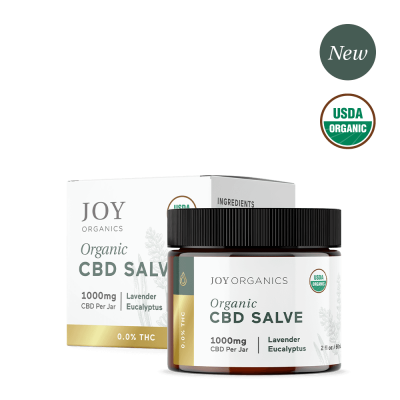JOY ORGANICS | CBD Salve 1000mg - USDA Approved