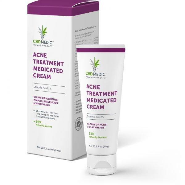 CBD MEDIC | Acne - Step 02 - Acne Treatment Medicated Cream