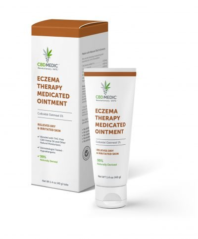 CBD MEDIC | Eczema Therapy Medicated Ointment