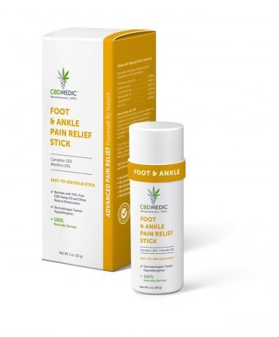 CBD MEDIC | Foot & Ankle Pain Relief Stick