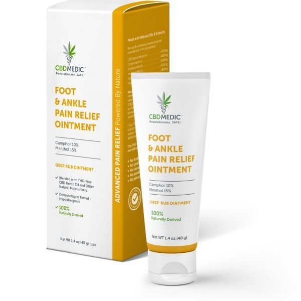 CBD MEDIC | Foot & Ankle Pain Relief Ointment