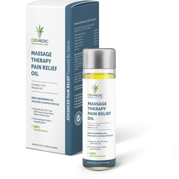 CBD MEDIC | Massage Therapy Pain Relief Oil