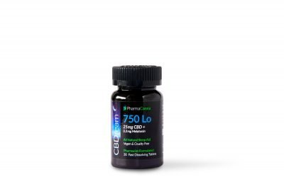 PHARMACANNA | THC Free CBDream Fast Dissolving Tablets - 750mg LOLO