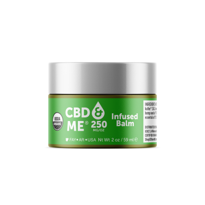 CBD & ME | Infused Balm (250 MG/OZ) - 2 OZ