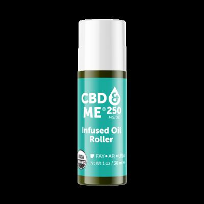 CBD & ME | Infused Oil Roller (250 MG/OZ) - 1 OZ