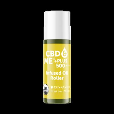 CBD & ME | PLUS Infused Oil Roller (500 MG/OZ) - 1 OZ