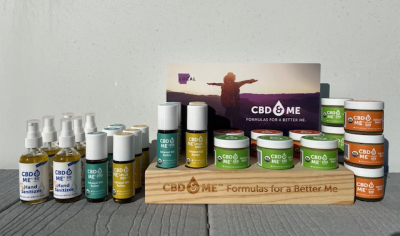 CBD & ME | Starters Topical Kit - Display with Hiker