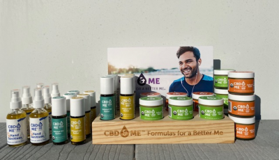 CBD & ME | Starters Topical Kit - Display with Jogger