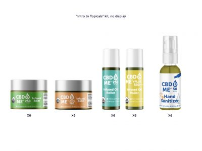 CBD & ME | Intro Topical Kit with No Display