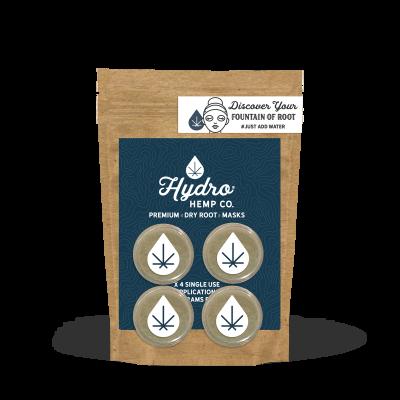 CBD & ME   Hydro Hemp Root Mask - 4 Single Use Applications Per Pack (6 pack)